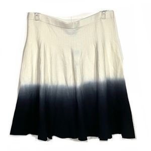 NWT Chelsea & Theodore Ombré Knit Flare Skirt